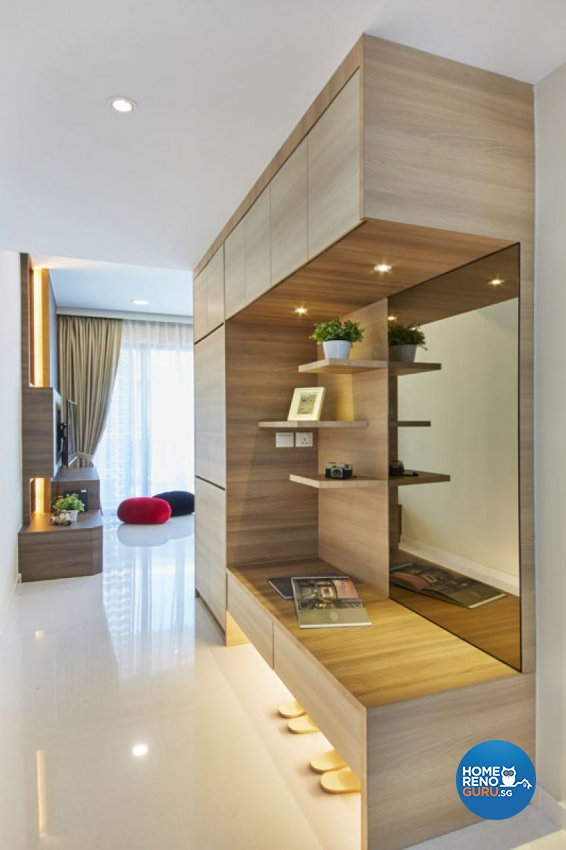 Contemporary, Modern, Scandinavian Design - Living Room - Condominium - Design by Carpenters 匠