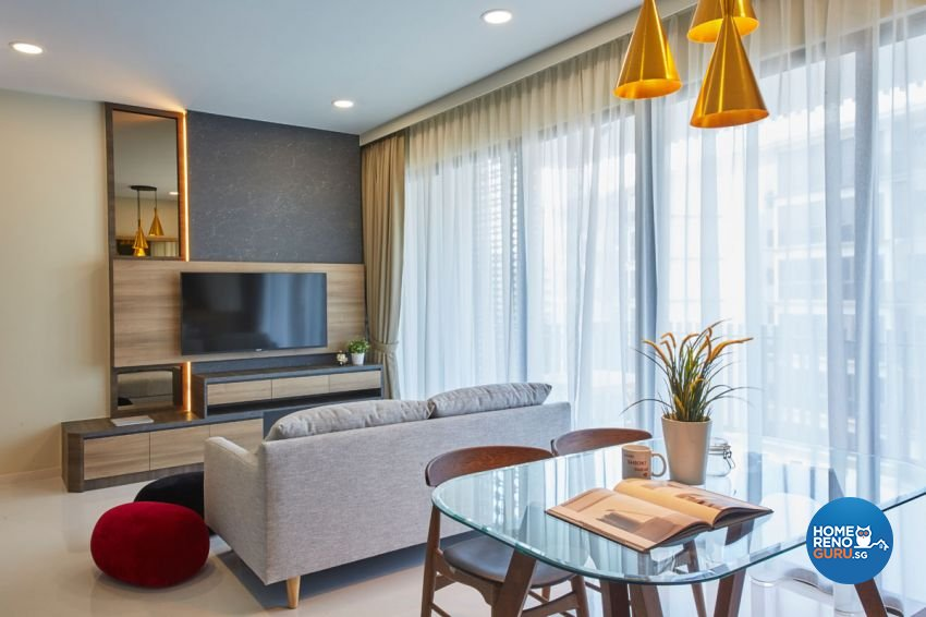 Contemporary, Modern, Scandinavian Design - Living Room - Condominium - Design by Carpenters 匠