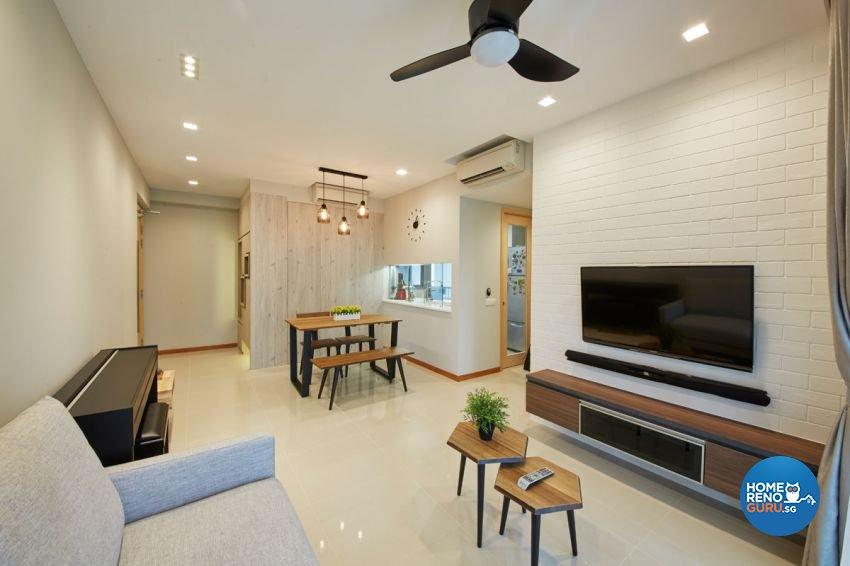 Classical, Contemporary, Modern Design - Living Room - Condominium - Design by Carpenters 匠