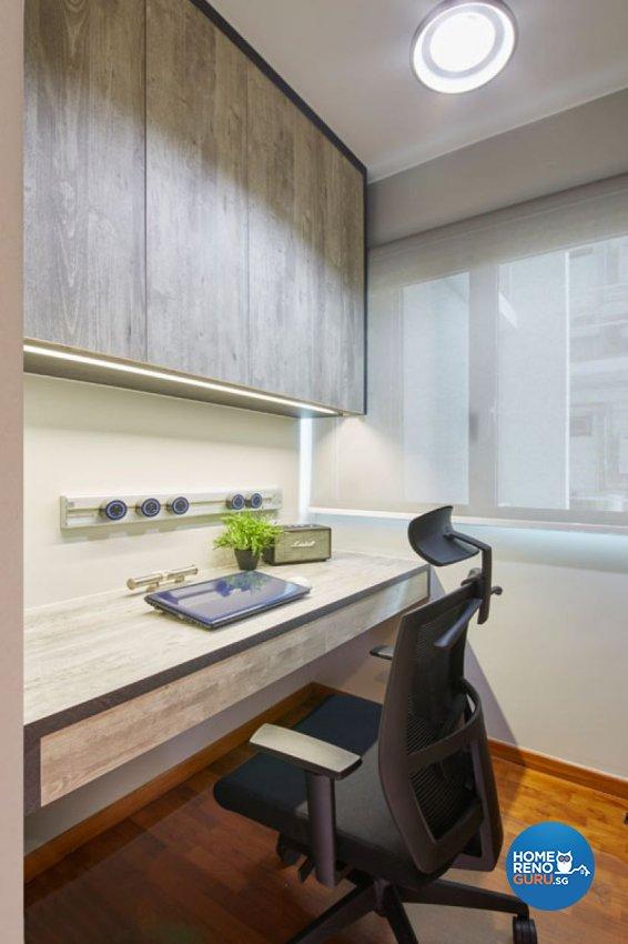 Classical, Contemporary, Modern Design - Study Room - Condominium - Design by Carpenters 匠
