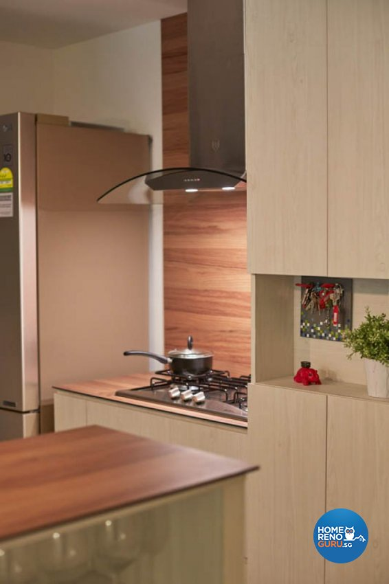Modern, Scandinavian Design - Kitchen - Condominium - Design by Carpenters 匠
