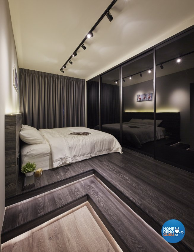 Eclectic, Industrial, Scandinavian Design - Bedroom - HDB 4 Room - Design by Carpenters 匠