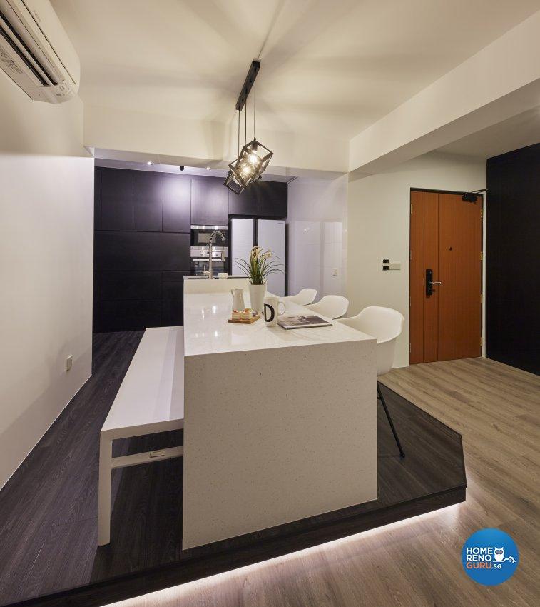 Eclectic, Industrial, Scandinavian Design - Dining Room - HDB 4 Room - Design by Carpenters 匠