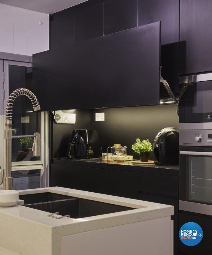 Eclectic, Industrial, Scandinavian Design - Kitchen - HDB 4 Room - Design by Carpenters 匠