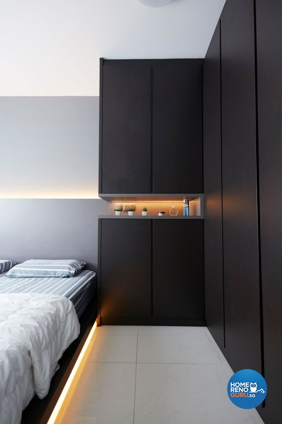 Eclectic, Minimalist, Modern Design - Bedroom - HDB 4 Room - Design by Carpenters 匠