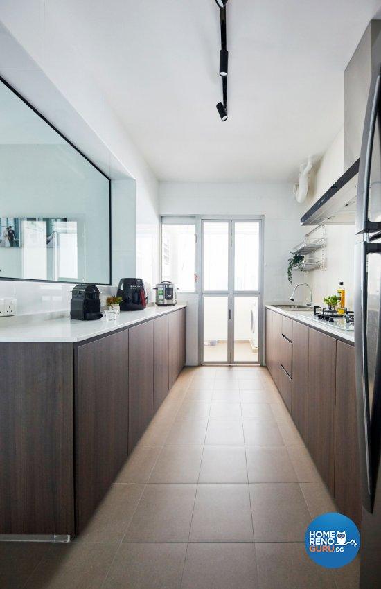 Eclectic, Minimalist, Modern Design - Kitchen - HDB 4 Room - Design by Carpenters 匠