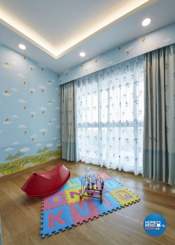 Contemporary, Modern Design - Entertainment Room - Condominium - Design by Carpenters 匠