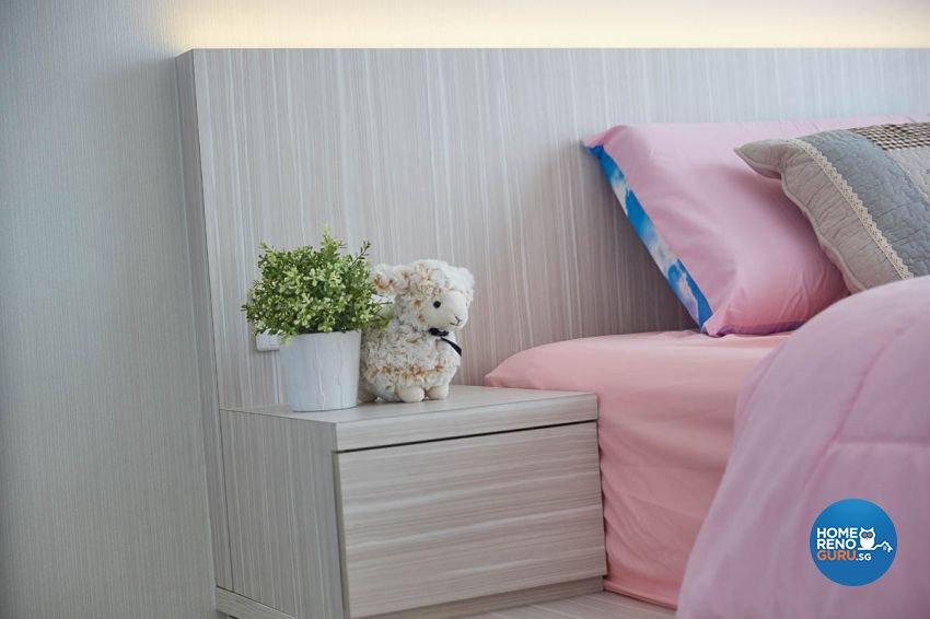 Modern, Scandinavian Design - Bedroom - HDB 4 Room - Design by Carpenters 匠