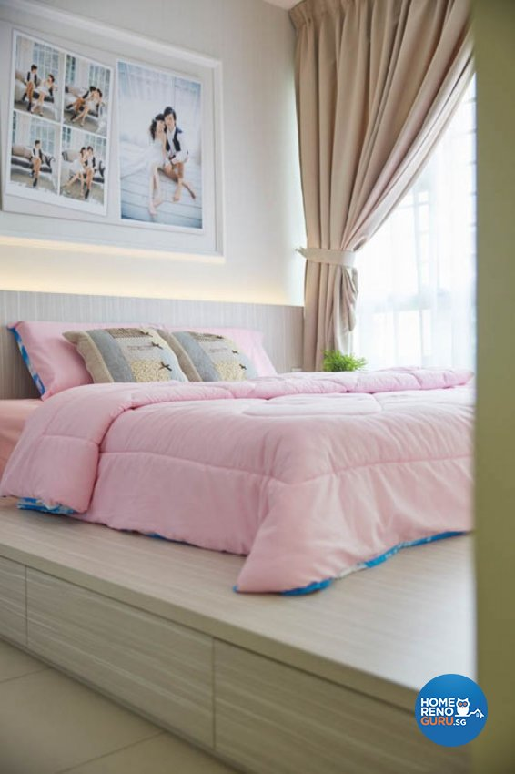 Modern, Scandinavian Design - Bedroom - HDB 4 Room - Design by Carpenters 匠