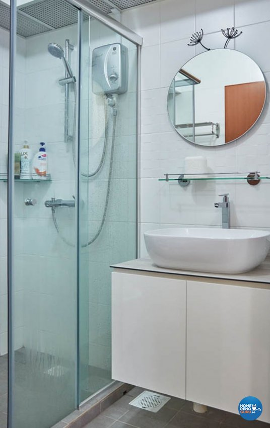 Modern, Scandinavian Design - Bathroom - HDB 4 Room - Design by Carpenters 匠