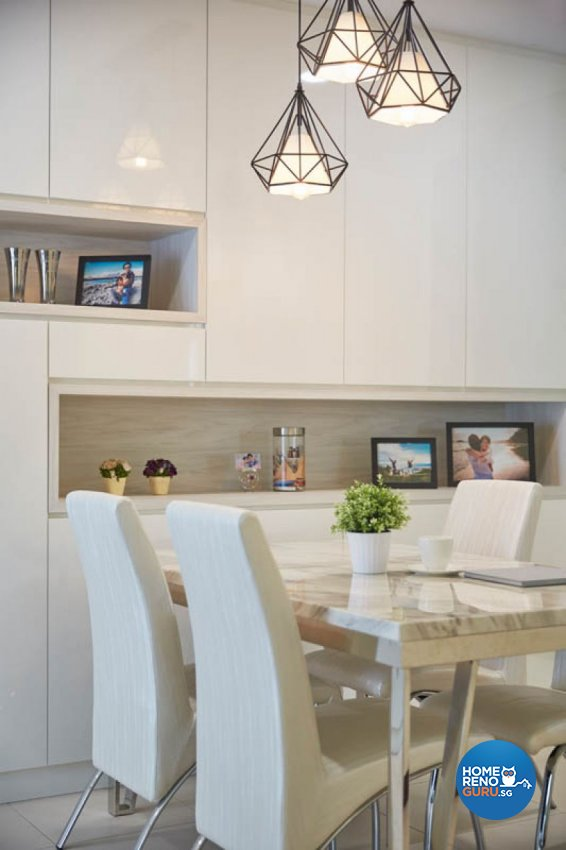 Modern, Scandinavian Design - Dining Room - HDB 4 Room - Design by Carpenters 匠