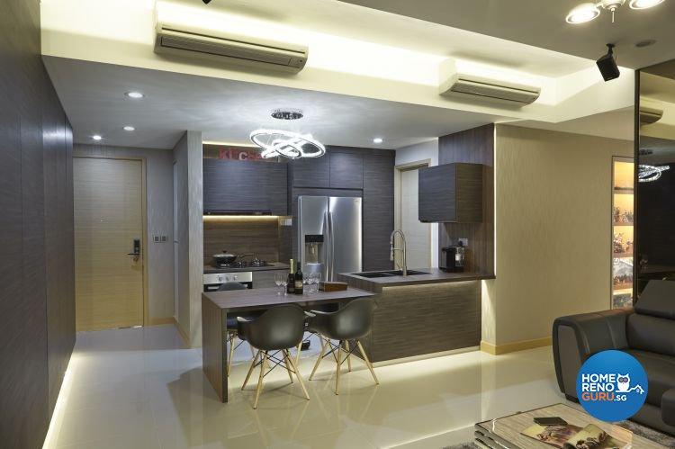 Contemporary, Modern Design - Kitchen - Condominium - Design by Carpenters 匠