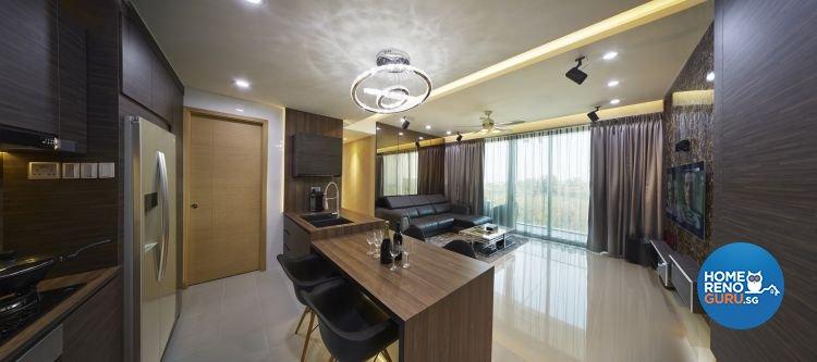 Contemporary, Modern Design - Living Room - Condominium - Design by Carpenters 匠