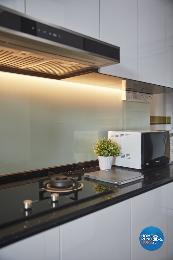 Eclectic, Modern, Scandinavian Design - Kitchen - HDB 4 Room - Design by Carpenters 匠
