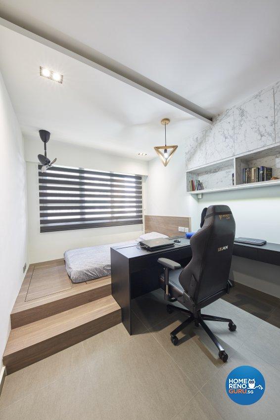 Modern Design - Bedroom - HDB 5 Room - Design by Carpenters 匠