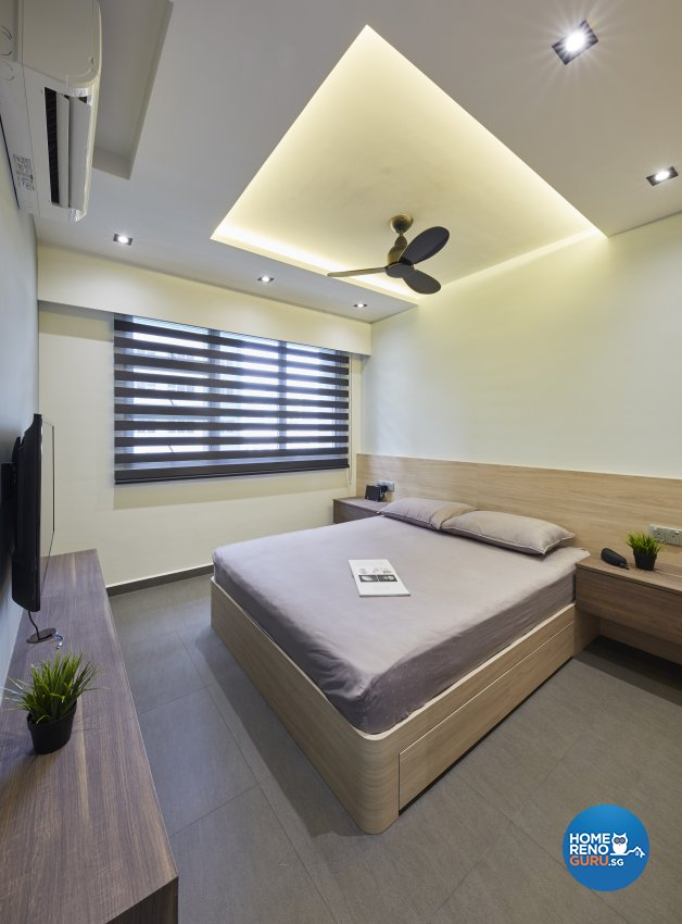 Modern Design - Bedroom - HDB 5 Room - Design by Carpenters 匠