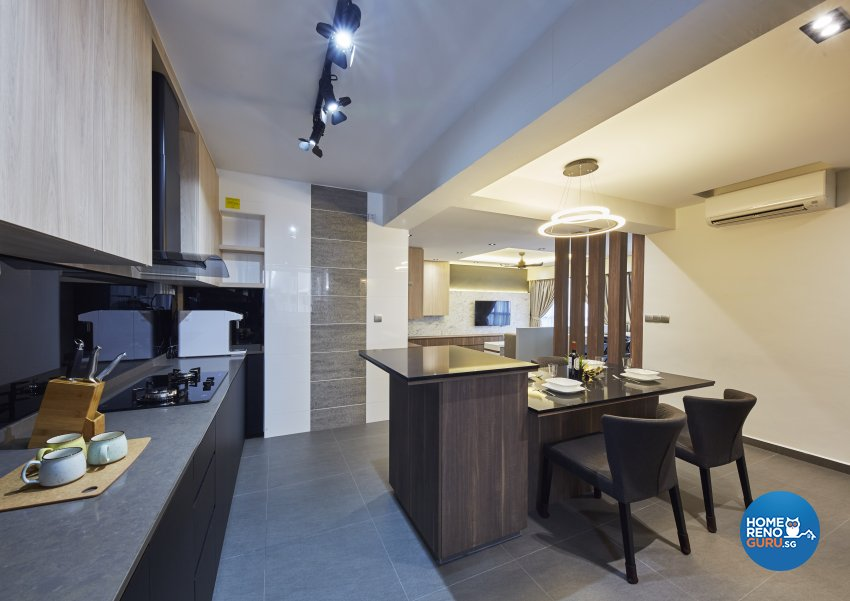Modern Design - Kitchen - HDB 5 Room - Design by Carpenters 匠