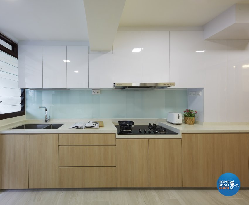 Classical, Minimalist, Modern Design - Kitchen - HDB Executive Apartment - Design by Carpenters 匠