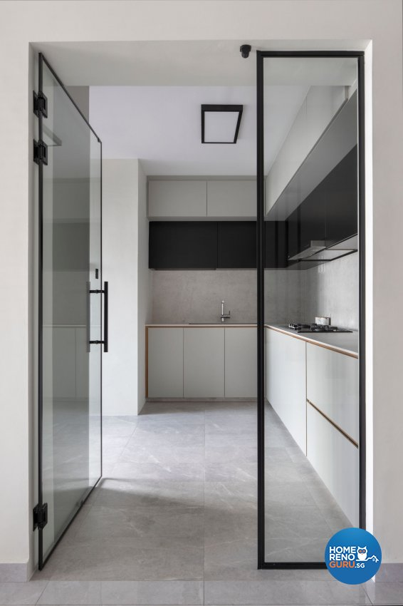 Modern Design - Kitchen - HDB Executive Apartment - Design by Carpenters 匠
