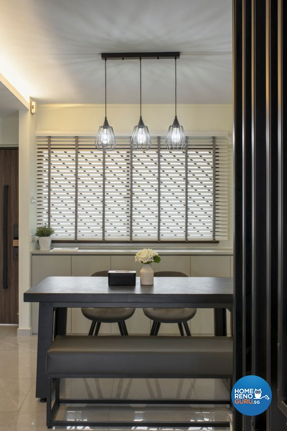 Modern Design - Dining Room - HDB Executive Apartment - Design by Carpenters 匠