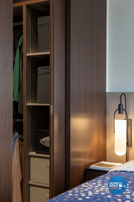 Modern Design - Bedroom - HDB Executive Apartment - Design by Carpenters 匠
