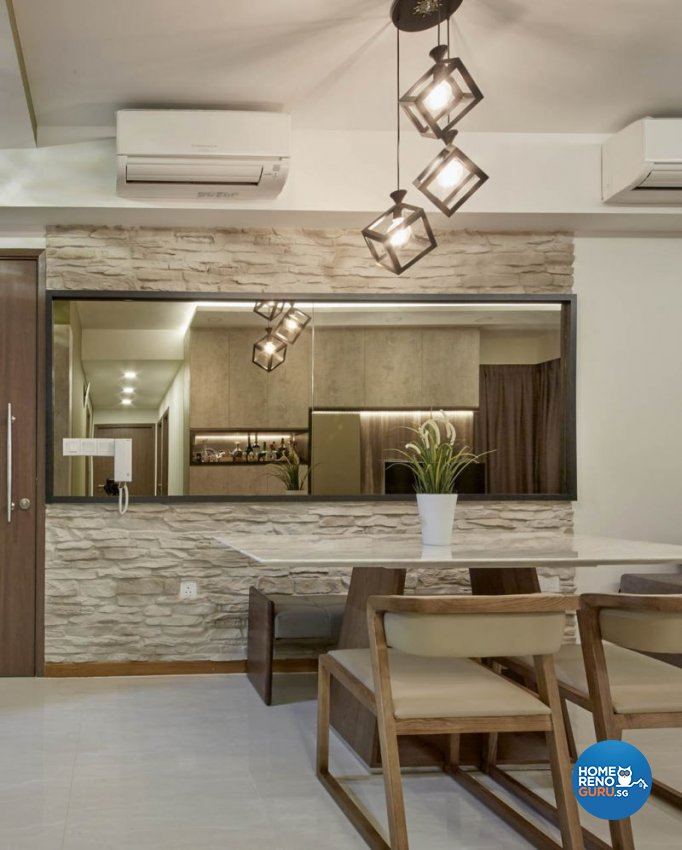 Contemporary, Modern, Rustic Design - Dining Room - Condominium - Design by Carpenters 匠