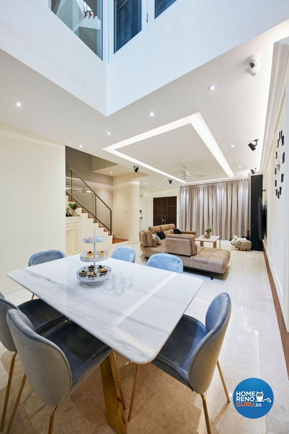 Modern Design - Dining Room - Landed House - Design by Carpenters 匠