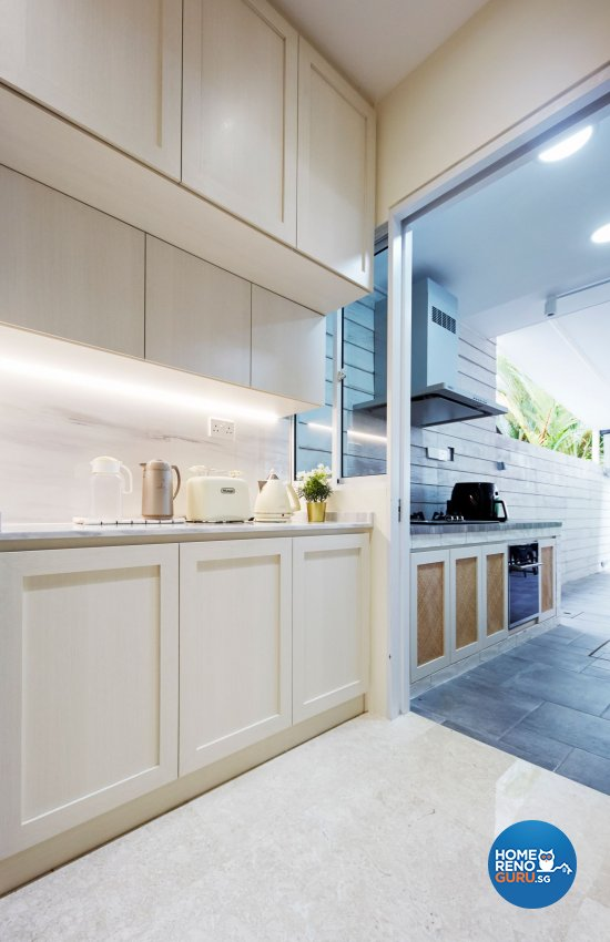 Modern Design - Kitchen - Landed House - Design by Carpenters 匠