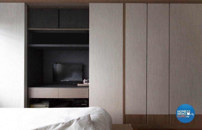 Contemporary, Scandinavian Design - Bedroom - HDB 5 Room - Design by Carpenters 匠