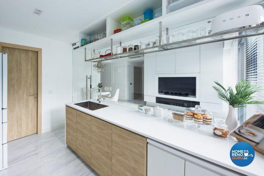 Minimalist Design - Living Room - Condominium - Design by Carpenters 匠