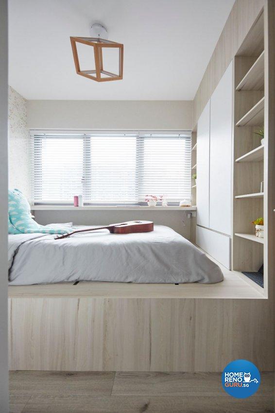 Minimalist Design - Bedroom - Condominium - Design by Carpenters 匠