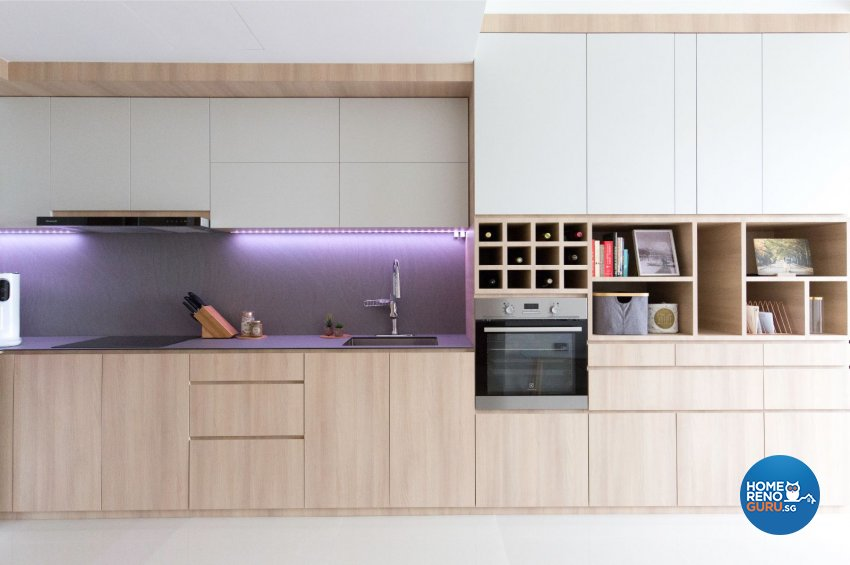Minimalist, Scandinavian Design - Kitchen - Condominium - Design by Carpenters 匠