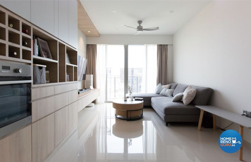 Minimalist, Scandinavian Design - Living Room - Condominium - Design by Carpenters 匠