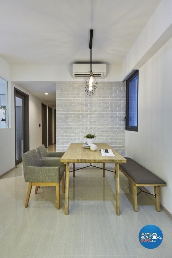 Scandinavian Design - Dining Room - Condominium - Design by Carpenters 匠