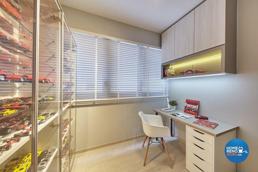 Scandinavian Design - Study Room - Condominium - Design by Carpenters 匠