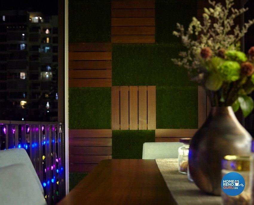 Eclectic, Modern, Rustic Design - Balcony - Condominium - Design by Carpenters 匠