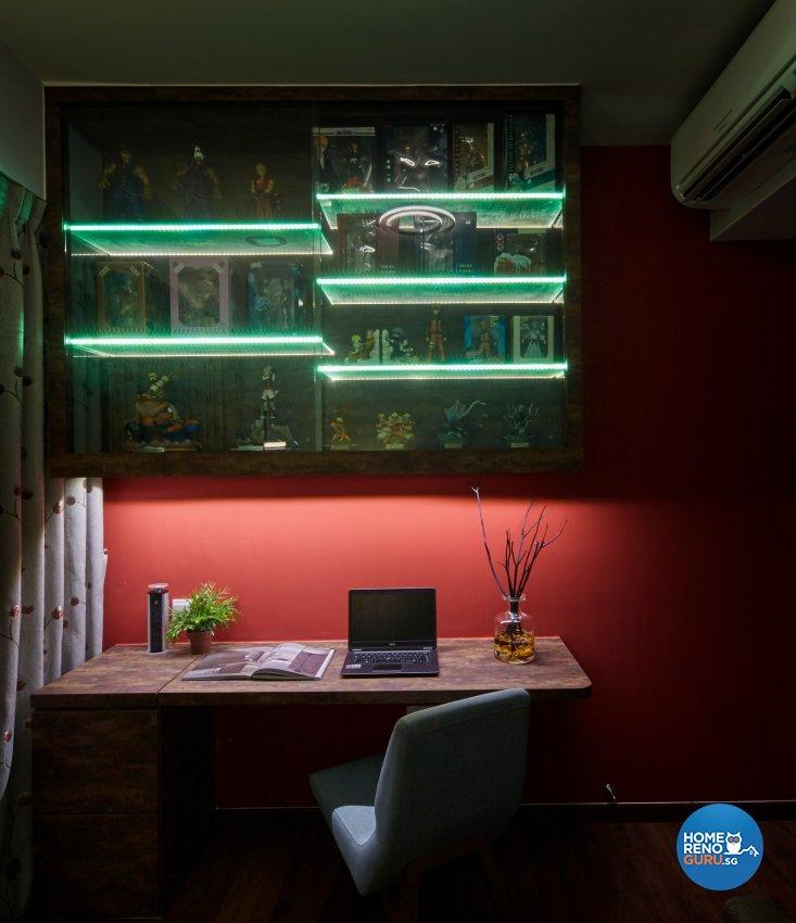 Eclectic, Modern, Rustic Design - Living Room - Condominium - Design by Carpenters 匠