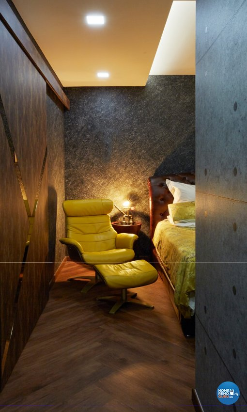 Eclectic, Modern, Rustic Design - Bedroom - Condominium - Design by Carpenters 匠