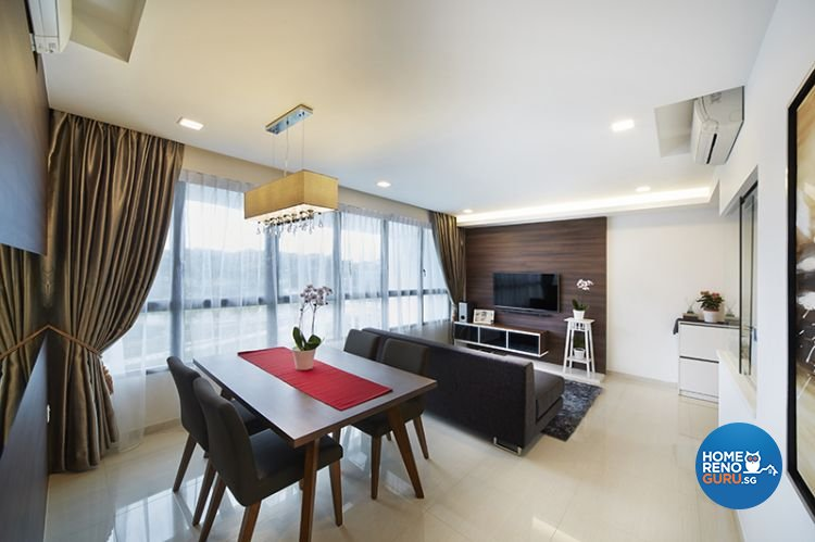 Contemporary, Modern Design - Dining Room - Condominium - Design by Carpenters 匠