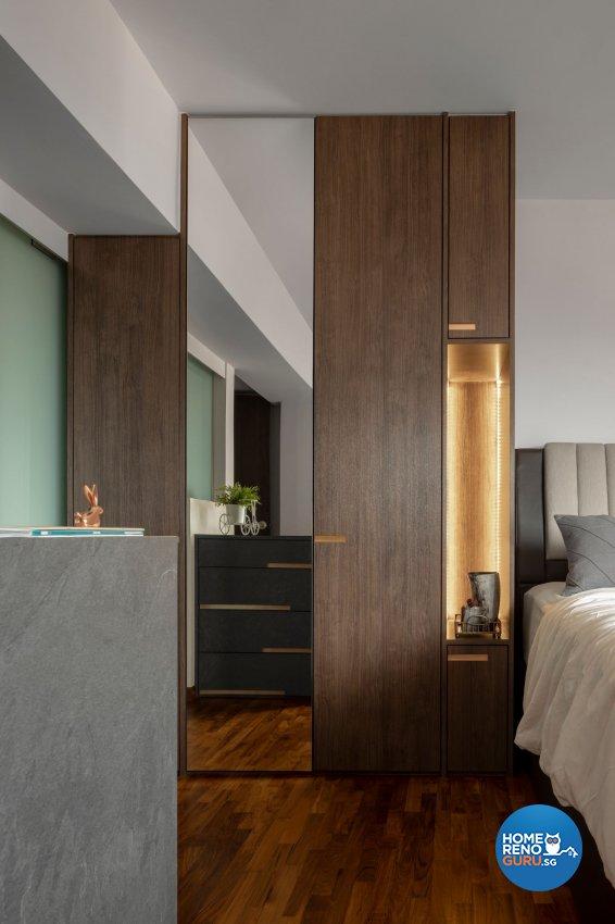 Contemporary, Modern, Scandinavian Design - Bedroom - HDB 5 Room - Design by Carpenters 匠