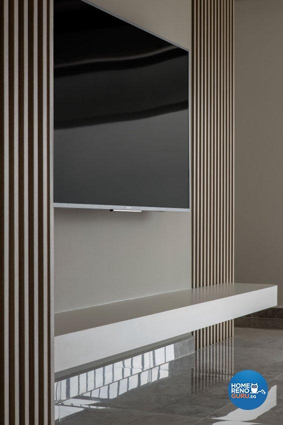 Contemporary, Modern, Scandinavian Design - Living Room - HDB 5 Room - Design by Carpenters 匠