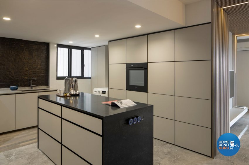 Contemporary, Modern, Scandinavian Design - Kitchen - HDB 5 Room - Design by Carpenters 匠