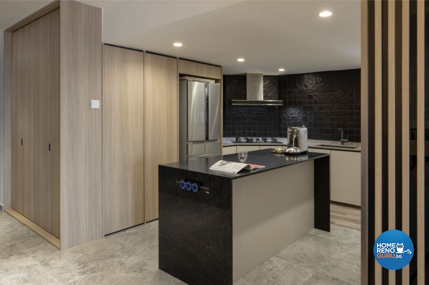 Contemporary, Modern, Scandinavian Design - Kitchen - HDB 5 Room - Design by Carpenters 匠