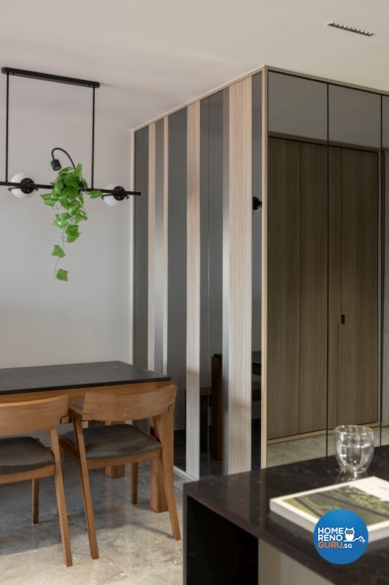 Contemporary, Modern, Scandinavian Design - Dining Room - HDB 5 Room - Design by Carpenters 匠