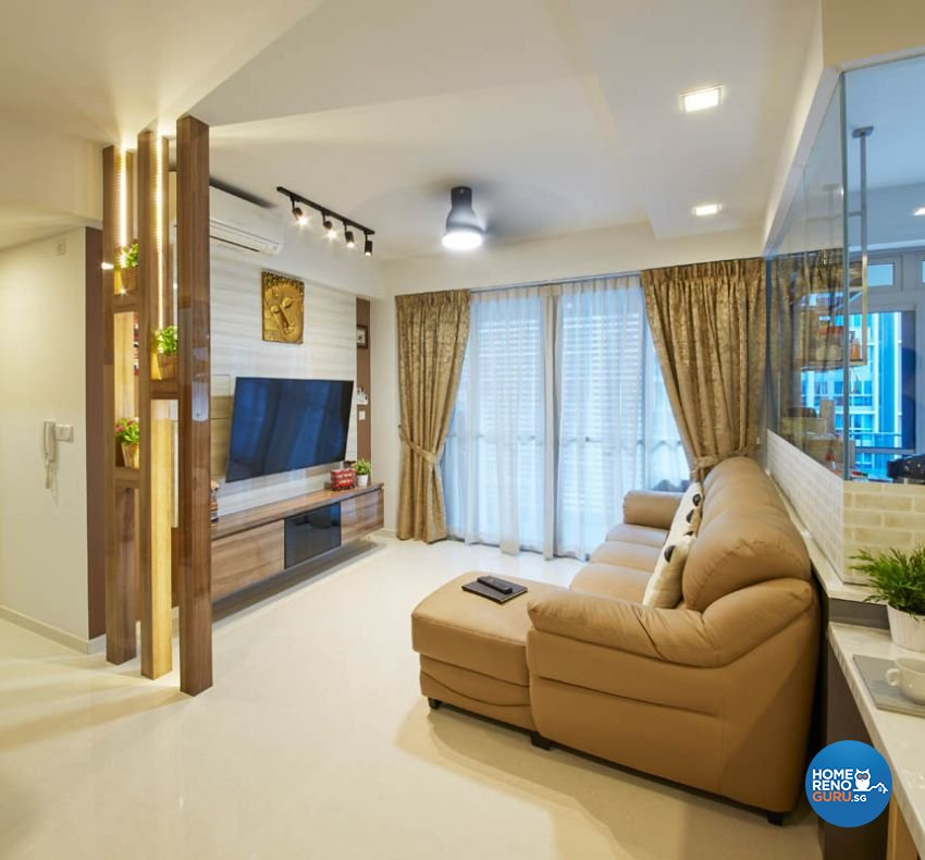 Modern Design - Living Room - Condominium - Design by Carpenters 匠