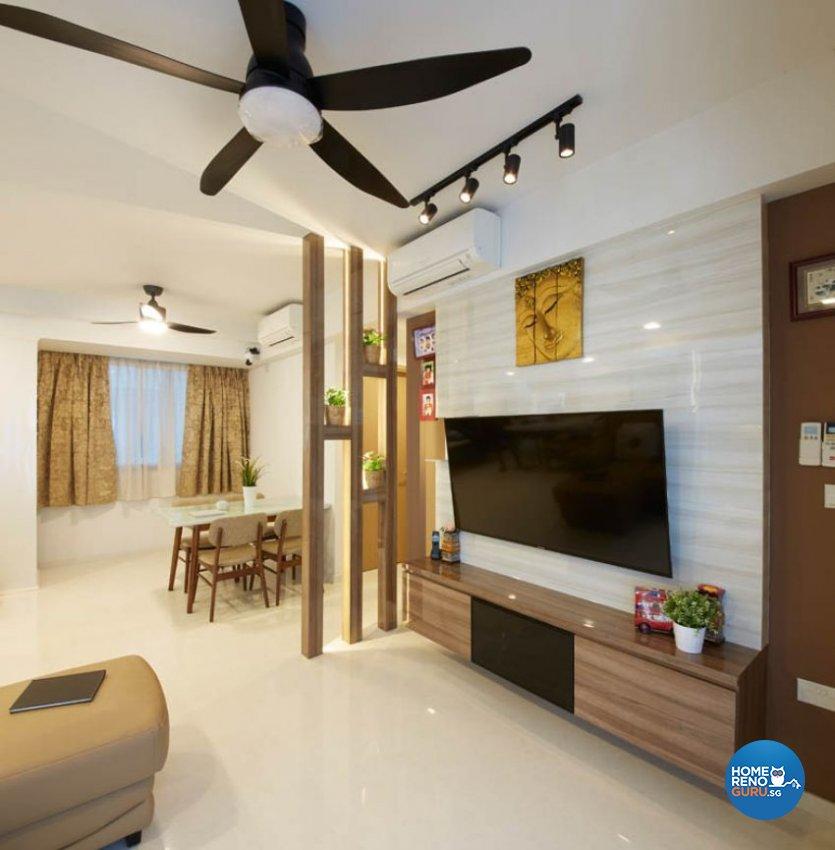 Modern Design - Living Room - Condominium - Design by Carpenters 匠