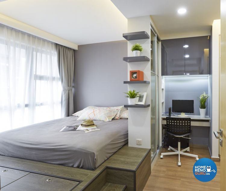 Contemporary, Modern Design - Bedroom - Condominium - Design by Carpenters 匠