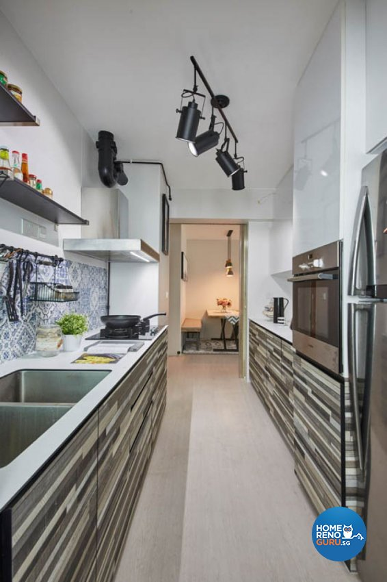 Modern, Scandinavian Design - Kitchen - HDB 4 Room - Design by Carpenters 匠