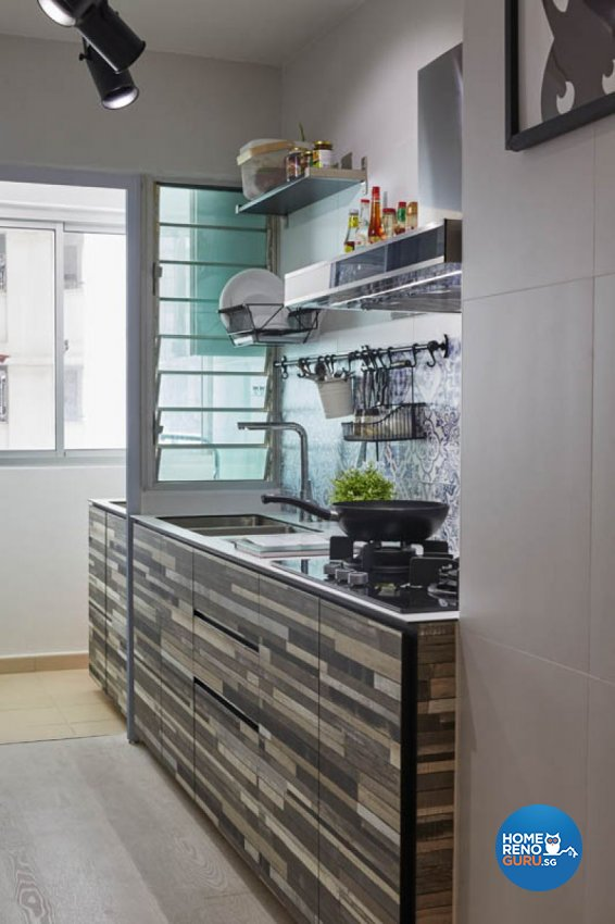 Modern, Scandinavian Design - Kitchen - HDB 4 Room - Design by Carpenters 匠
