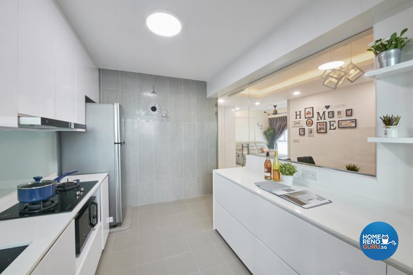 Contemporary, Minimalist, Scandinavian Design - Kitchen - HDB 4 Room - Design by Carpenters 匠